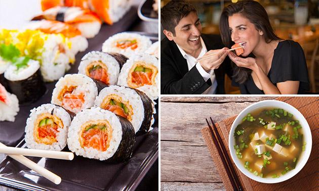 Japans 2-gangen keuzediner bij restaurant Sakura