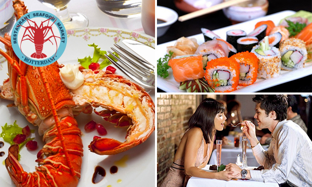 All-You-Can-Eat & Drink (2,5 uur) bij Seafood Market