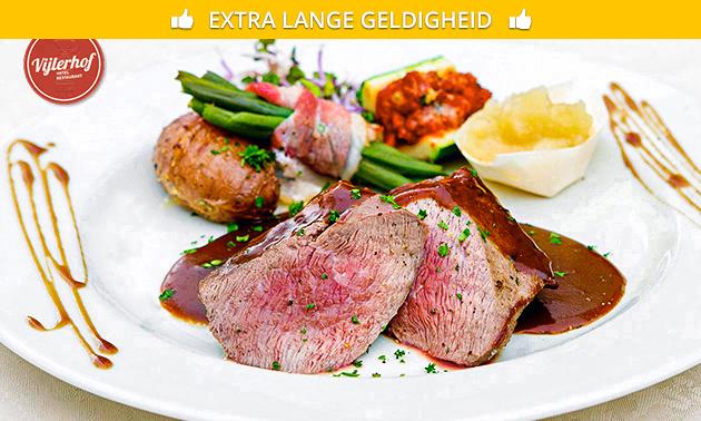 3-gangen keuzediner of -lunch bij Restaurant Vijlerhof