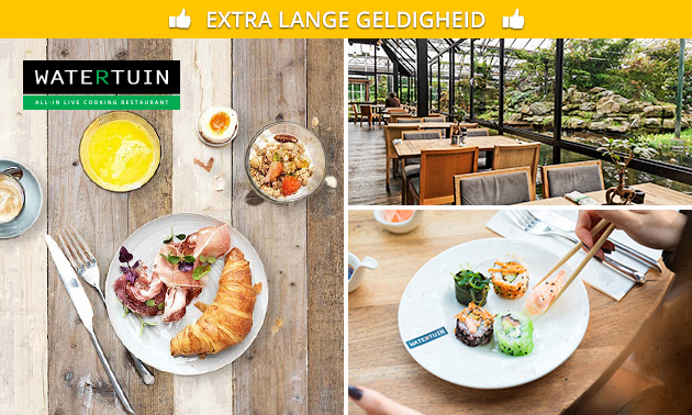 All-You-Can-Eat & Drink (3,5 uur) bij Watertuin
