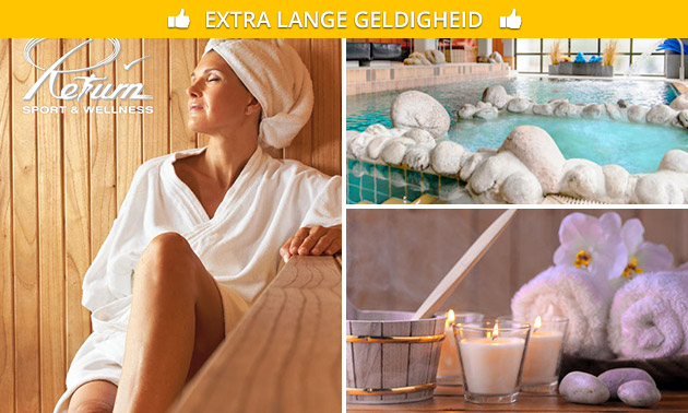 Hele dag sauna bij Return Sport & Wellness
