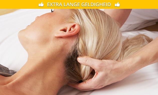 Cranio-sacraalbehandeling (30, 60 of 90 min)
