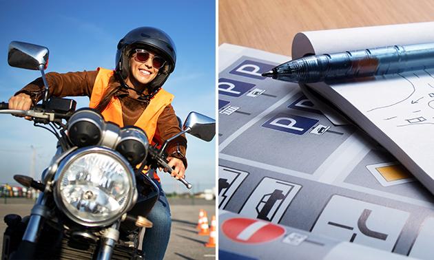 Online theoriecursus voor auto of motor