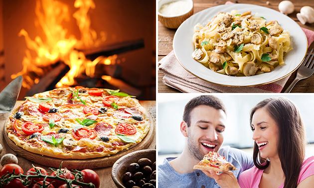 Take-away pizza of pasta (36 keuzes) van Ristorante La Storia