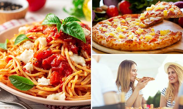 3-gangendiner (35+ keuzes) bij Pizzeria Al Parma