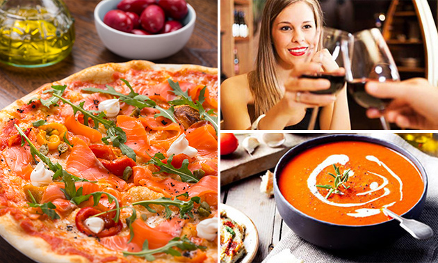 3-gangendiner (50+ keuzes) bij Pizzeria di Salvatore