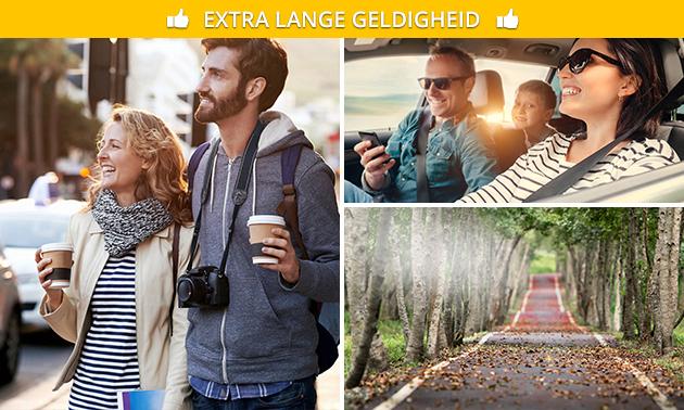 Navigatiegame (autorally of wandeling) voor 1 tot 5 personen