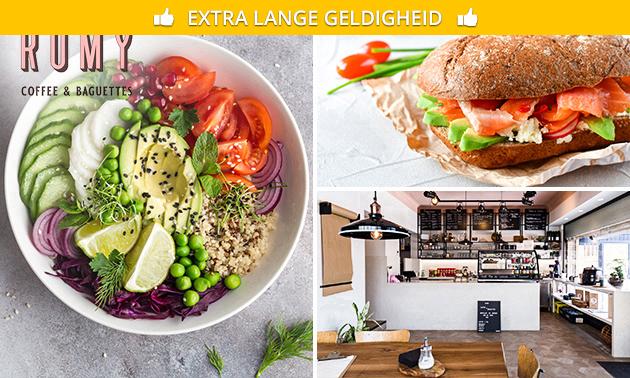 Saladebowl naar keuze voor afhaal