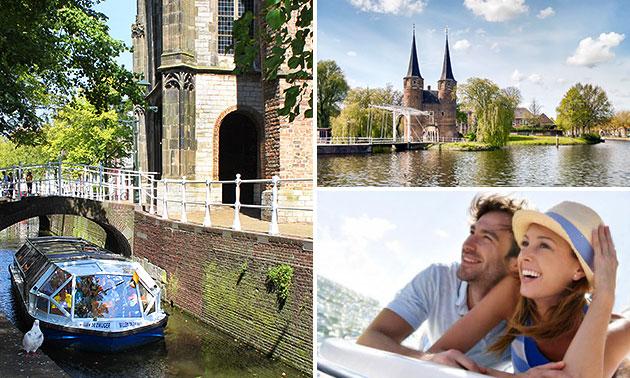 Rondvaart door Delft