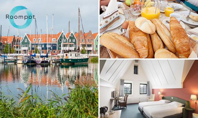 Overnachting voor 2 + ontbijt in Volendam