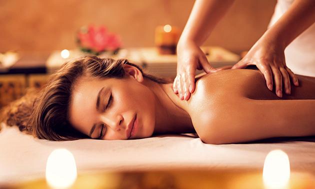 Massage + infraroodcabine (55 min)