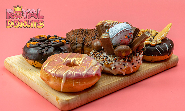 Afhalen: 6 of 12 donuts naar keuze in hartje Tilburg