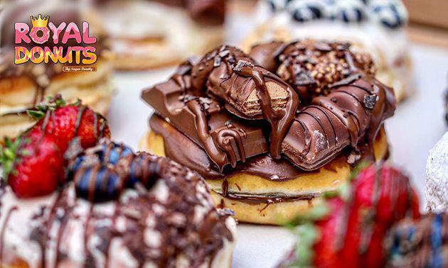 Afhalen: donut + drankje óf een donutbox (6, 12 of 24 stuks)