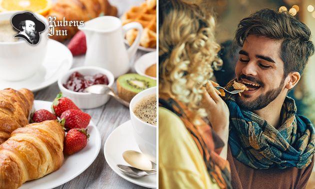 Luxe ontbijt + bubbels bij Rubens Inn