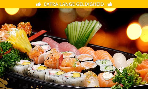 Afhalen: sushibox (18 stuks) van Saki Sushi