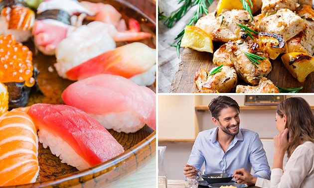 À emporter : menu en 3 services chez Sakura Zaventem