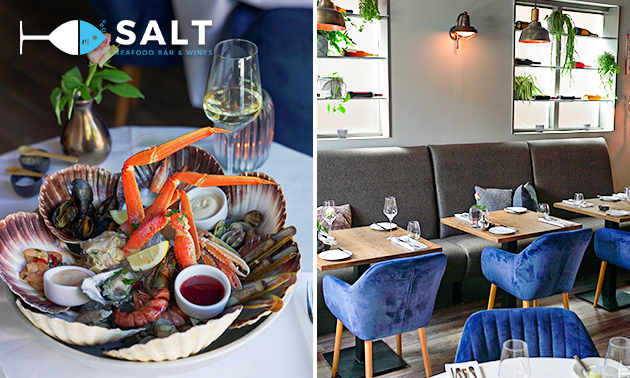 Luxe Fruit de Mer-diner bij Salt Seafood Bar & Wines