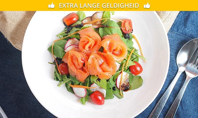 Afhalen: maaltijdsalade naar keuze + friet + frisdrank