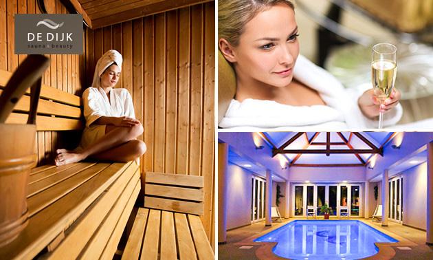 Dagentree + cava bij Sauna & Beauty De Dijk