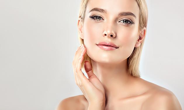 Wenkbrauw- of gezichtsbehandeling