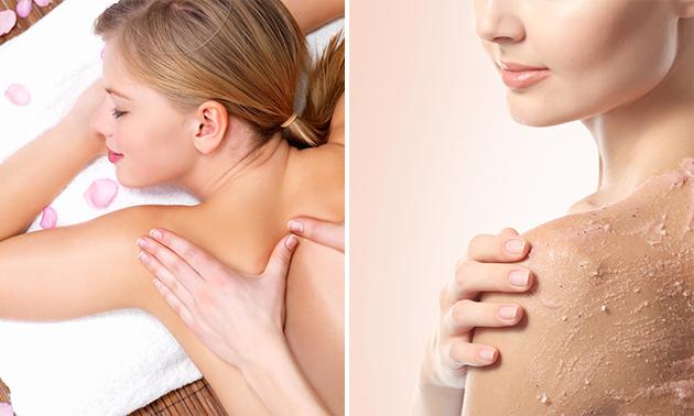 Massage + rugbehandeling (60 min)