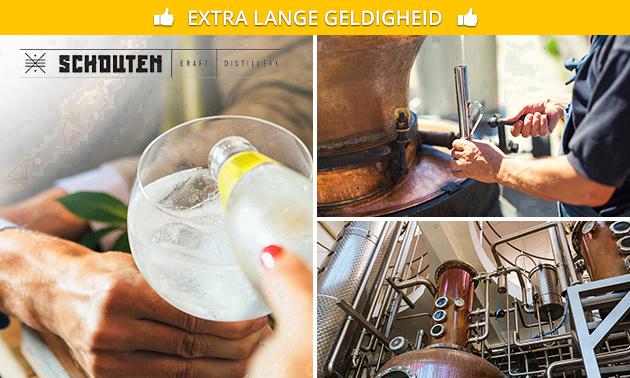 Rondleiding distilleerderij + proeverij (2,5 uur)