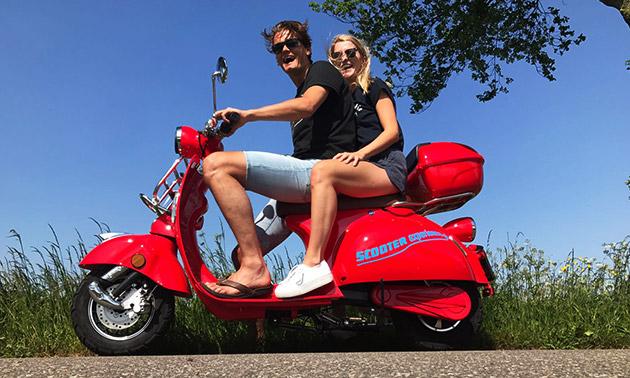 Dagtocht op de scooter + 2 drankjes
