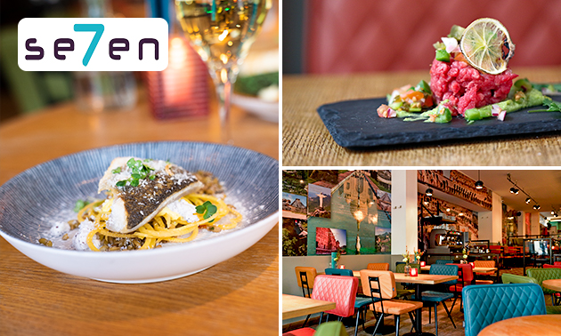 Shared dining-diner bij Se7en Utrecht