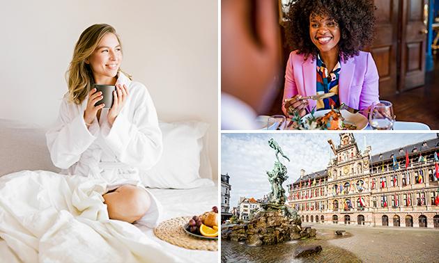 VIP-overnachting voor 2 + ontbijt in hartje Antwerpen