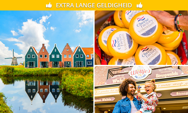 Oud-Hollands dagje uit in Volendam en Marken + lunch