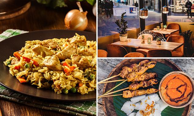 Afhalen: rijsttafel in hartje Zoetermeer