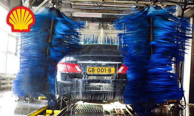 Uitgebreide autowasbeurt bij Shell Oztank