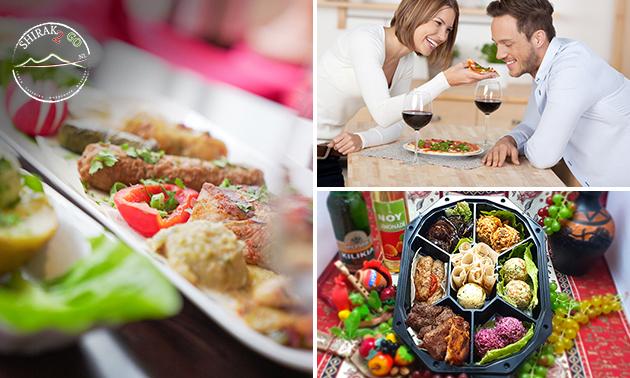 Thuisbezorgd of afhalen: 2-gangen BBQ-diner