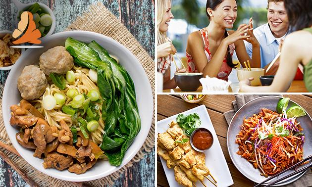 Thais 3-gangendiner (30+ keuzes) bij Siam Thai