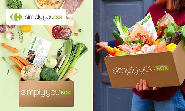 Bon d'achat pour des box-repas de Simply You Box