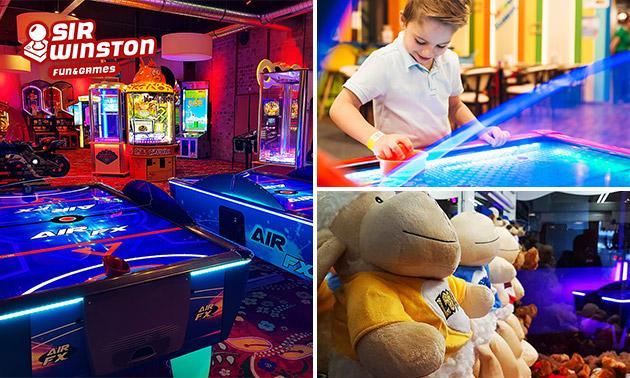 Speeltegoed bij Sir Winston Fun & Games