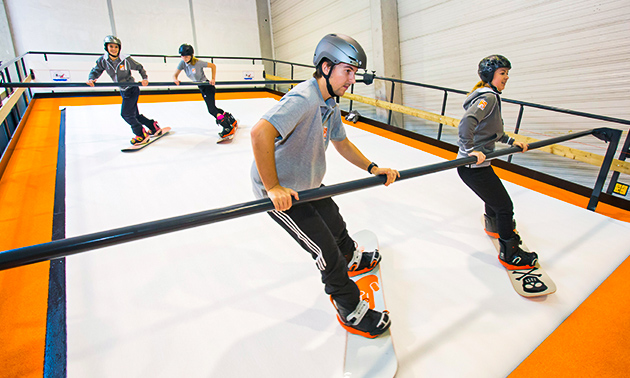 Ski- of snowboardles(sen)