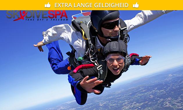 Un saut en parachute à Spa/Cerfontaine