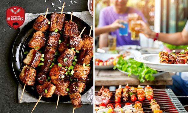 Afhalen: BBQ- of gourmetpakket