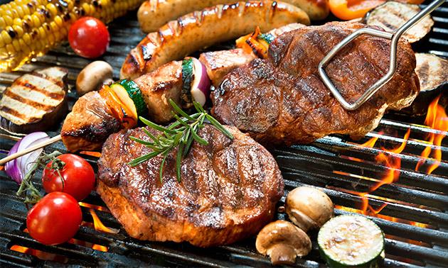 Afhalen: luxe barbecuepakket voor 4 personen