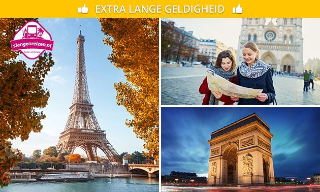 2 óf 3 dagen Parijs met Slangen Reizen
