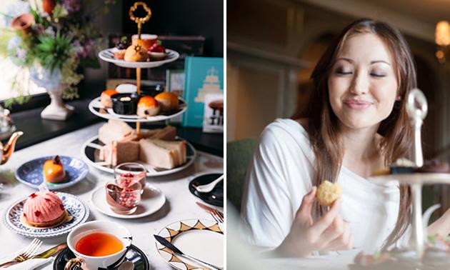 Luxe high tea in hartje Kampen