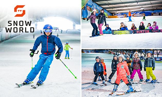 Skiën of snowboarden (4 uur) bij SnowWorld