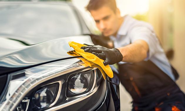 Handmatige autowasbeurt naar keuze
