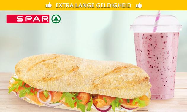 Afhalen: smoothie + evt. broodje bij SPAR City