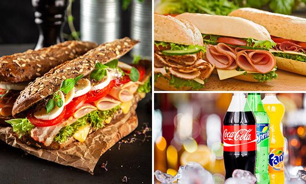 Broodje + frisdrank bij Spar City Deventer & Zutphen