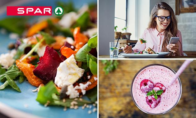 Afhalen: dagverse salade + smoothie bij SPAR City Enschede