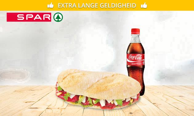Afhalen: broodje + frisdrank bij Spar City Zwolle