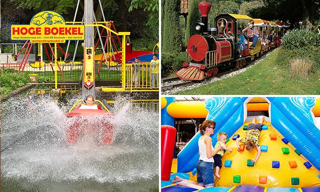Entree voor Speelpark Hoge Boekel + midgetgolf
