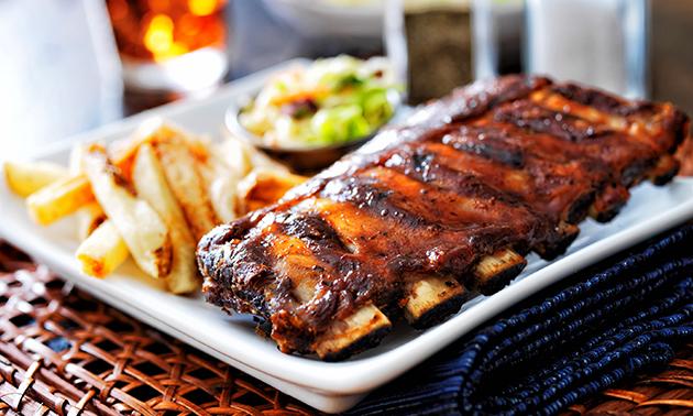 Afhalen: spareribs of mixed grill + bijgerechten